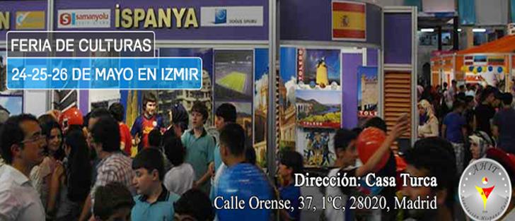 FERIA DE CULTURAS 24-25-26 DE MAYO EN IZMIR