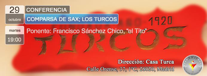 """Conferencia: """"Comparsa de Sax; Los Turcos"""""""