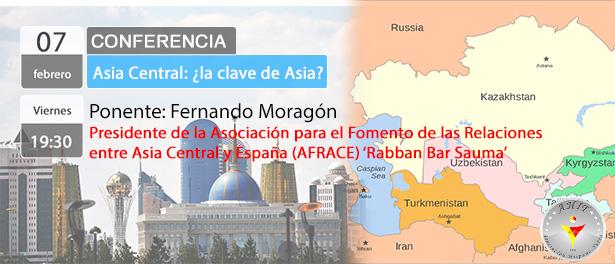 Conferencia: Asia Central: ¿la clave de Asia?