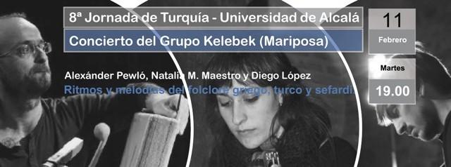 CONCIERTO: Grupo Kelebek (Mariposa)