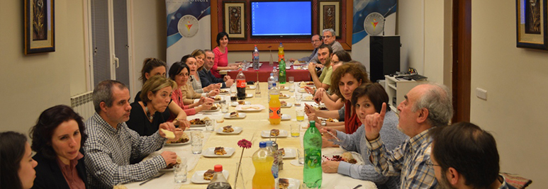 Encuentro en Casa Turca con el Coro Gaudeamus