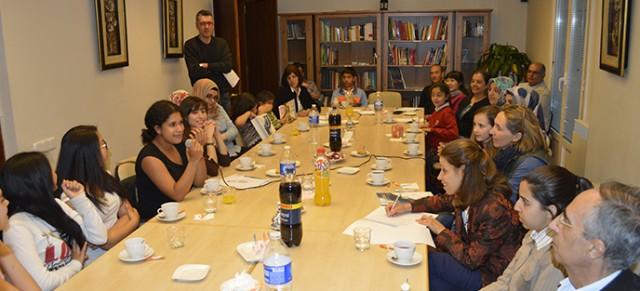 Encuentro con ganadores del Festival de Culturas 2014