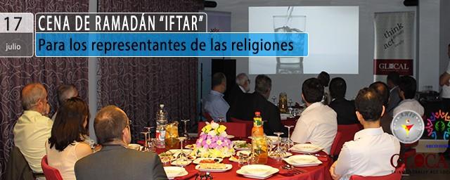 """Cena de Ramadán """"IFTAR"""" – Representantes religiosos"""