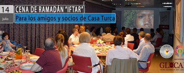 «IFTAR» – Para los amigos y socios de Casa Turca