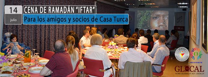 """""""IFTAR"""" – Para los amigos y socios de Casa Turca"""