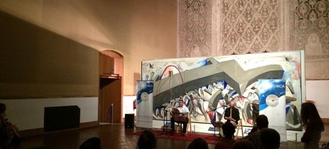 Concierto de Jose María y Otmane Yacoubi en Toledo