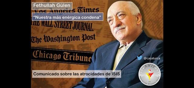 Comunicado de Gülen sobre las atrocidades de ISIS