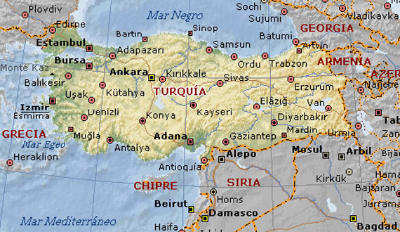 Mapa-de-Turquía