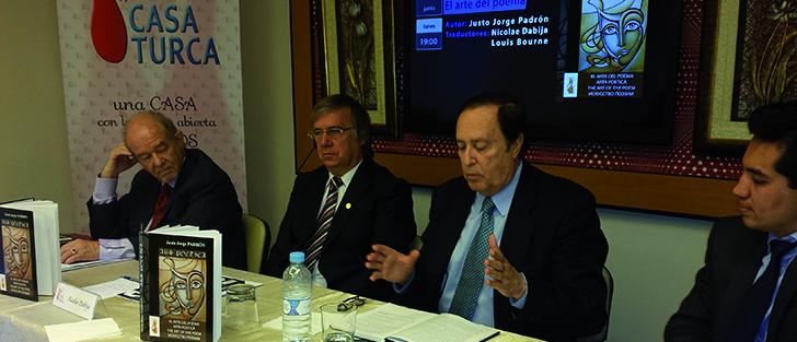 """Presentación de """"El arte del poema"""", de Justo Jorge Padrón"""
