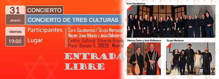 Concierto de Tres Culturas