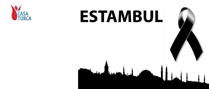 Condolencias a las víctimas del atentado en Estambul