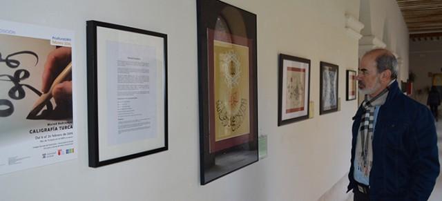 Exposición de caligrafía turca en la Universidad de Alcalá