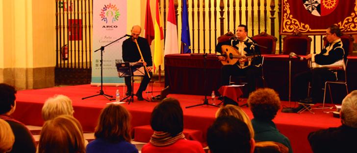 Música y danza sufí en Concierto de tres Culturas de Toledo