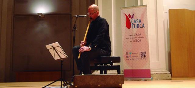 Finaliza el Mes de Turquía con un concierto de Ney