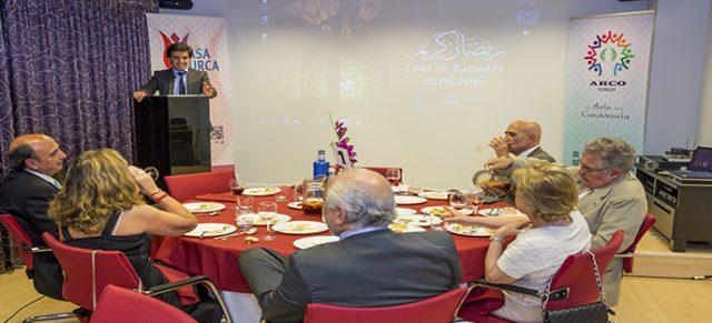 Cena de Ramadán para Embajadores