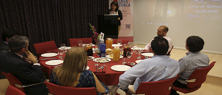 Cena de Ramadán para Periodistas